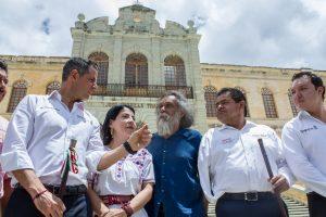 Respalda AMH proyectos culturales impulsados por el Maestro Francisco Toledo