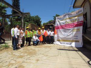 Gestiona Horacio Antonio obras de infraestructura para la Costa.