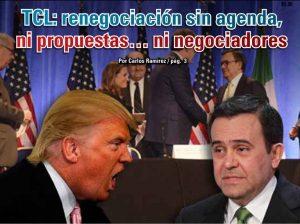 TCL: renegociación sin agenda, ni propuestas… ni negociadores: Carlos Ramírez