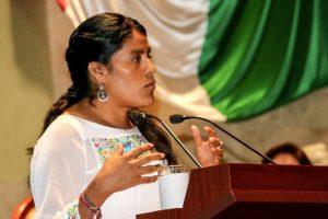 Pide la Diputada Eufrosina Cruz apoyo urgente para la UABJO