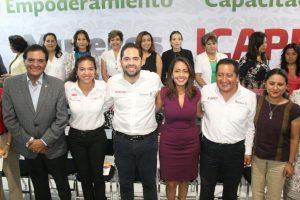 Celebra Mariana Benítez acciones del Gobernador Alejandro Murat a favor de las mujeres