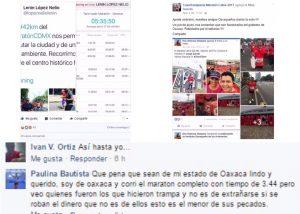 Maratonistas tramposos y otros: Horacio Corro Espinosa