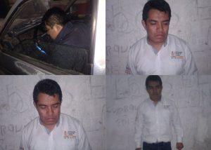 Trabajador de la FGJO intenta robar camioneta en Tlaxiaco.