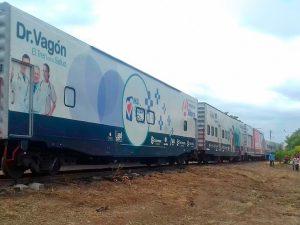 """Brinda """"Dr. Vagón"""" casi 3 mil consultas en Ciudad Ixtepec"""