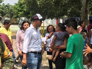 Brinda su respaldo AMH a familias de Ciudad Ixtepec por sismo de 6.1 grados
