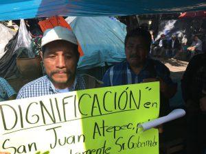 Denuncian al presidente municipal de Acatepec
