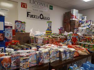Liconsa envía más de 57 toneladas de Víveres y enseres a Oaxaca y Chiapas