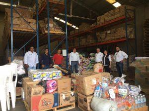 Liconsa envía otras 34 toneladas de apoyo a personas damnificadas por sismos