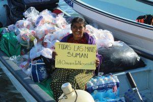 Familias damnificadas continúan recibiendo apoyos del Sistema DIF Oaxaca