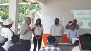 Destina CONAPESCA 5 mdp para apoyo a municipios del Istmo