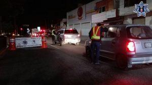 Detienen a 11 conductores en Operativo Alcoholímetro en la capital