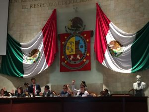 Pide Leslie Zavaleta la rehabilitación de la carretera estatal Pluma Hidalgo-Huatulco.