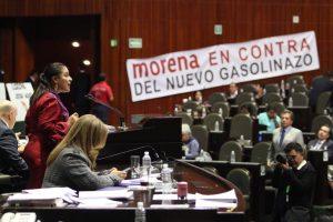 Diputados del PRI suben impuestos, mientras  la gente empobrece: Karina Barón