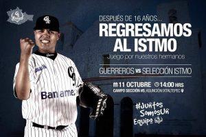 """Realizarán Guerreros de Oaxaca """"Juego por nuestros hermanos"""" en el Istmo"""