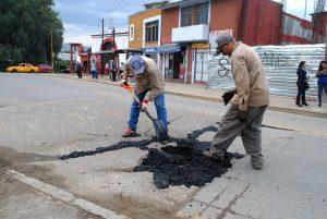 Continúa mejora de calles y avenidas  de la capital oaxaqueña