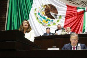 Políticas económicas disciplinadas del Gobierno de la República han consolidado la estabilidad macroeconómica del país y limitado los desequilibrios: Mariana Benítez