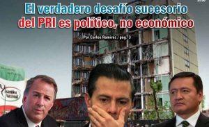 El verdadero desafío sucesorio del PRI es político, no económico