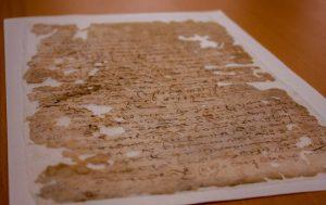 Un juicio de 1574,  documento más antiguo resguardado por el AGEO