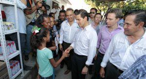Anuncia el Presidente Enrique Peña Nieto 50 lecherías Liconsa en Chiapas