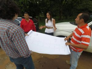 Se reconstruye obra pública en Santo Domingo Ingenio y Matías Romero