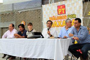 PT listo para reconstruir y transformar Oaxaca junto con ciudadanía: Benjamín Robles