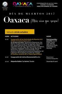 """Invitan a disfrutar del programa """"Oaxaca ¡Más viva que nunca"""""""