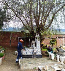 Realiza Protección Civil Municipal recorridos de prevención en panteones capitalinos