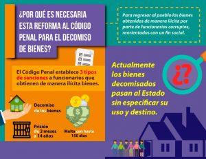Bienes que se decomisen deben ser destinados para beneficio social: Jesús Romero