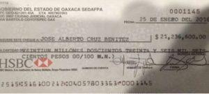 CRÓNICA POLÍTICA II: Los del millonario chequecito…ya se sabe quiénes son: Rosy RAMALES