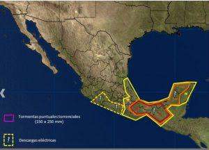 Persistirán vientos de Norte en el Istmo de Tehuantepec