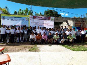 Realizan obras sociales en Itundujia con recursos conseguidos por el diputado Mtz Neri