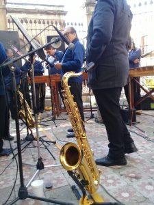Con notas del alma celebran día del músico
