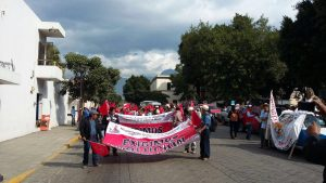 Marcha Antocha Campesina en la Capital Diana Méndez