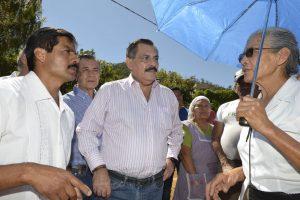 Con obras de impacto social, cumple Hernández Fraguas con habitantes de Guadalupe Victoria