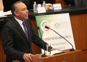Más de 80 mil millones de pesos de reserva financiera en el ISSSTE: Reyes Baeza