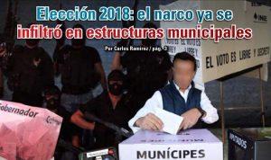 Elección 2018: el narco ya se infiltró en estructuras municipales: Carlos Ramírez