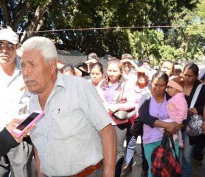 Habitantes de San Jacinto Amilpas denuncian despojo de tierras.