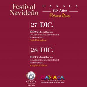 """Con """"Arrullos y Villancicos"""" culminará Festival Navideño 2017"""