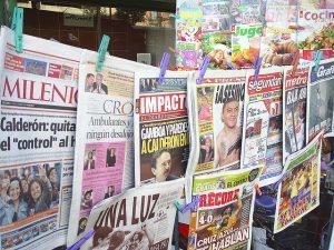 Gasta México millones en controlar medios: NYT