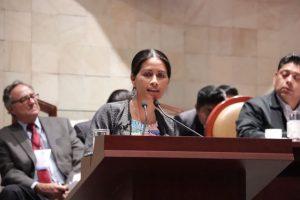 Proyectos de inversión deben ser consultados con comunidades: Paola Gutiérrez