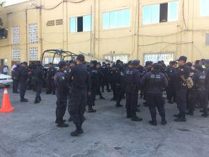 Se van a paro de labores Policías de Pinotepa Nacional por falta de pago