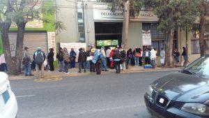 Incumplimiento de pagos provoca movilización de maestros jubilados y pensionados en Oaxaca