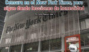 Censura en el New York Times, pero sigue dando lecciones de honestidad: Carlos Ramírez