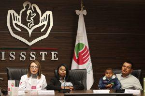 Con ayuda del ISSSTE, Berenice venció al cáncer en su infancia y hoy ha logrado formar una familia