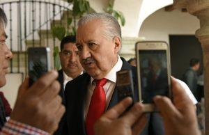 El buen Juan Díaz Pimentel, Secretario de Salud: Horacio Corro