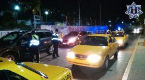 21 conductores sancionados en Operativo Alcoholímetro en Valles Centrales y Papaloapan