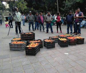 Productores de tomate piden un espacio digno para vender