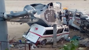 Informa Fiscalía General sobre accidente aéreo en Jamiltepec; hay 13 muertos y 15 heridos