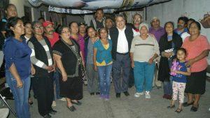 Jesús Rodríguez Socorro se reúne con colonos de Santa Rosa