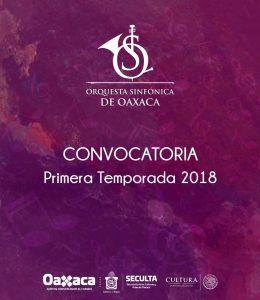 Abre Seculta convocatoria para integrar  nuevos elementos a la Orquesta Sinfónica de Oaxaca